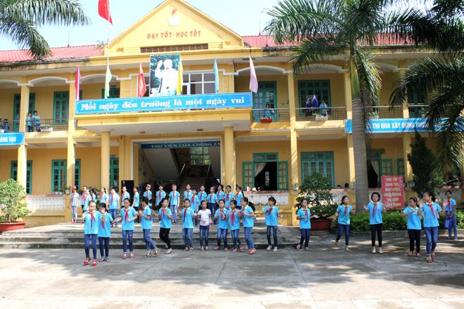 28 năm Trường Tiểu học Đăng Châu: Chặng đường vẻ vang