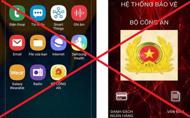 Bộ Công an cảnh báo người dùng điện thoại hệ điều hành Android về phần mềm gián điệp đặc biệt nguy hiểm
