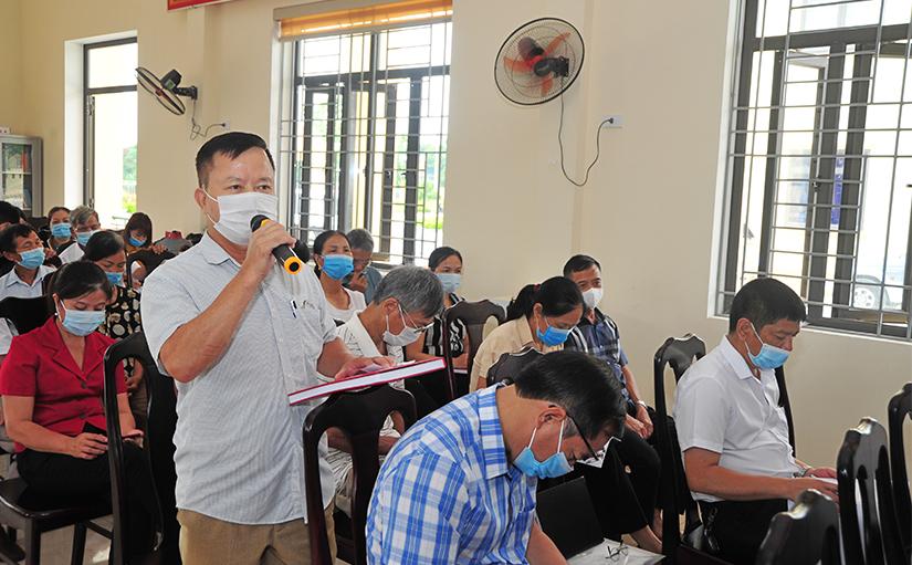 Tuyên Quang: Chủ tịch UBND tỉnh Nguyễn Văn Sơn tiếp xúc cử tri phường Ỷ La